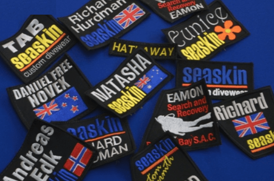 Bag Option - Name Badge Change Mat Drysuit Bag