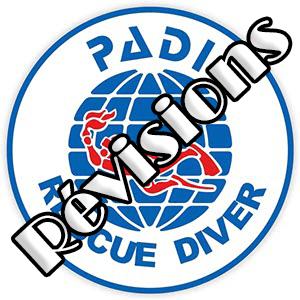 PADI Rescue Diver voici 230 questions de révision vous permettant de contrôler vos connaissances