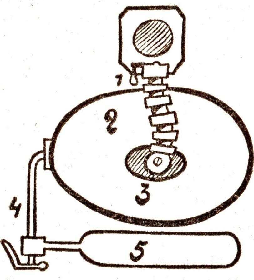 Scaphandre à circuit fermé (illustration : Dino Attanasio)