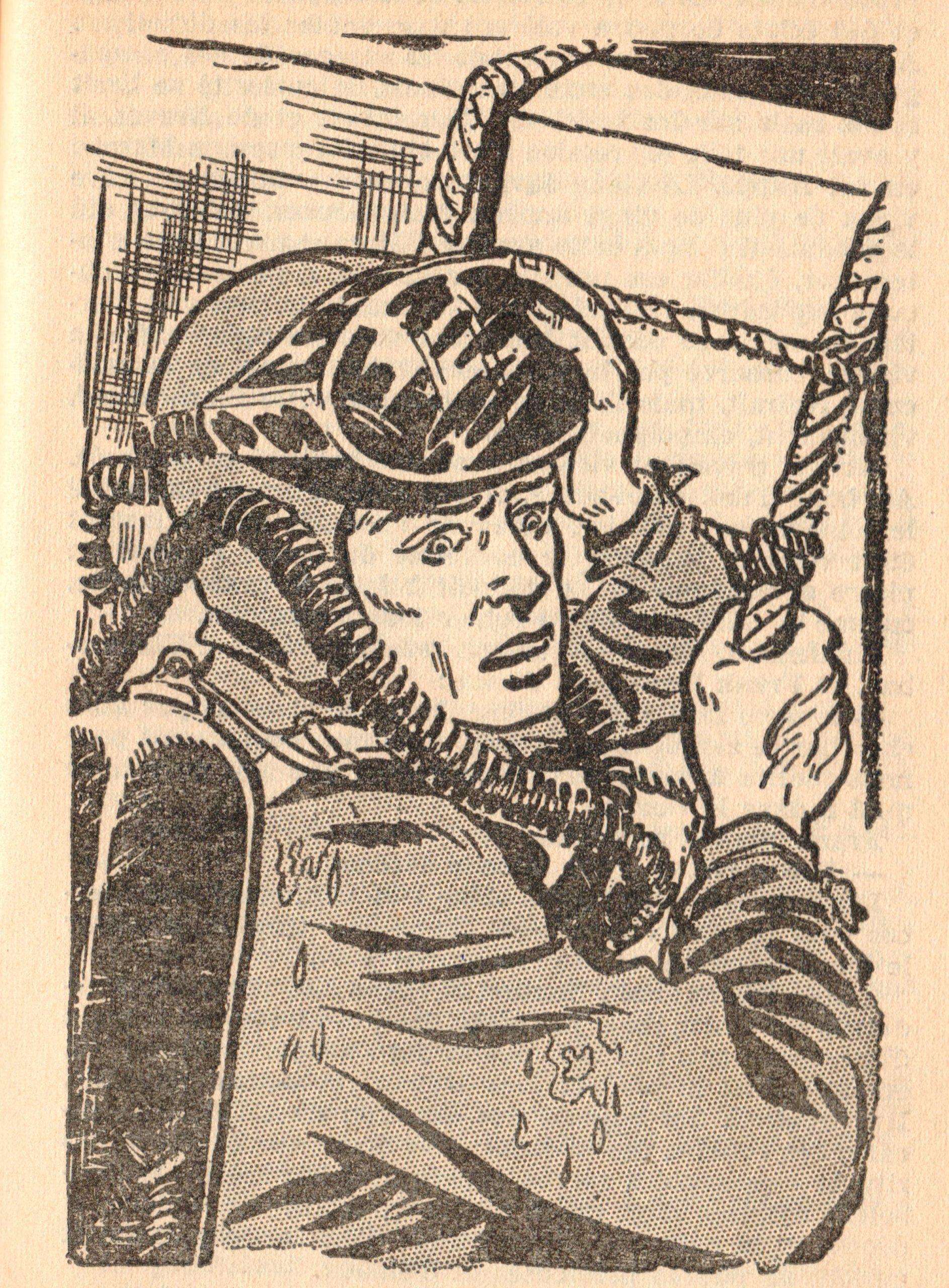 Bob Morane, la galère engloutie par Henri Vernes, illustrations Dino Attanasio