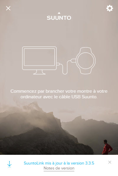 Suuntolink Connecter l'ordinateur