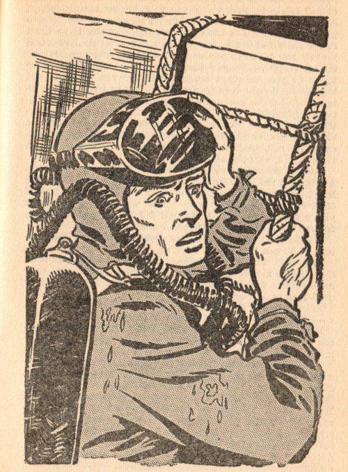 Bob Morane, La galère engloutie, par Henri Vernes. Illustrations de Dino Attanasio