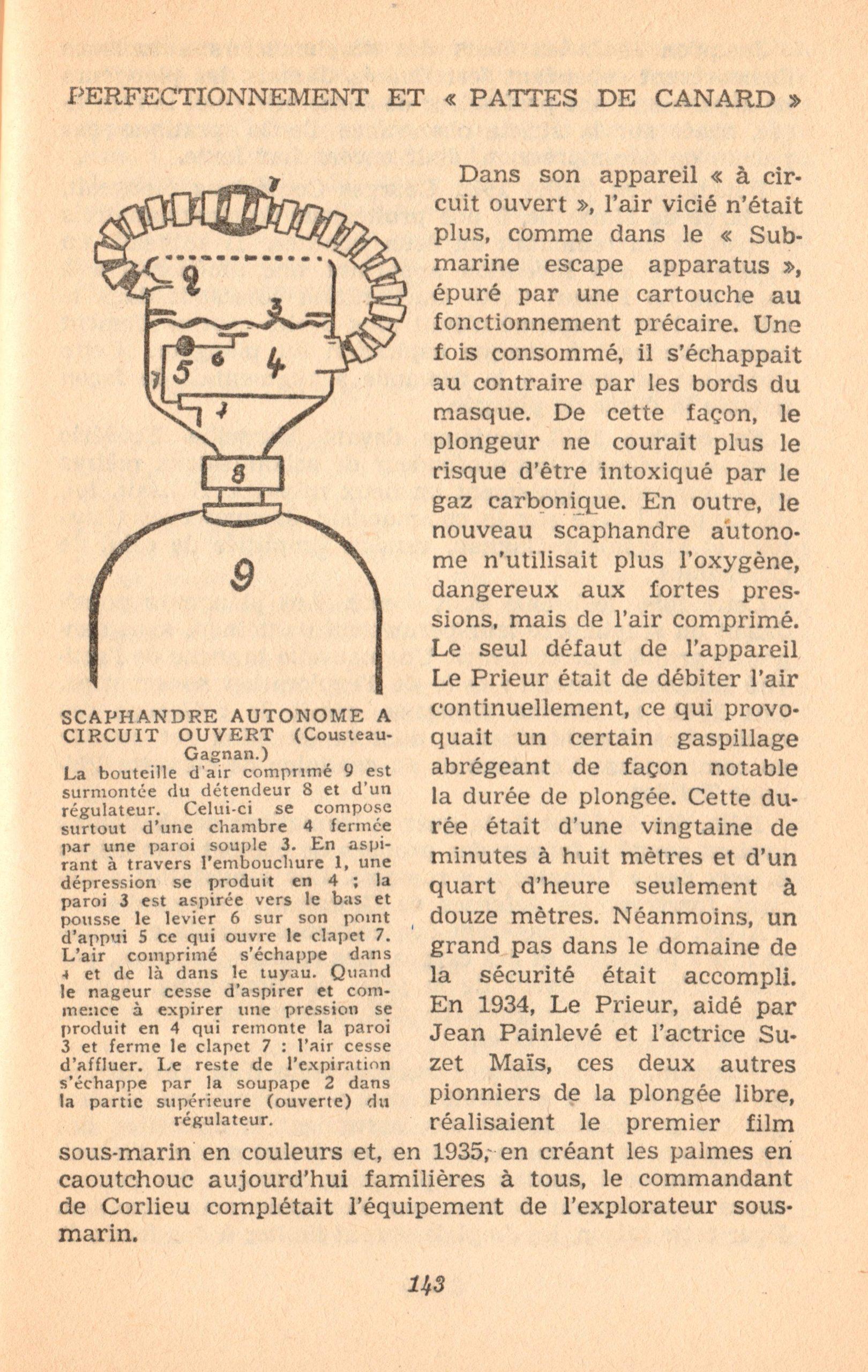 p143, La conquête des fonds sous-marins, marabout chercheur