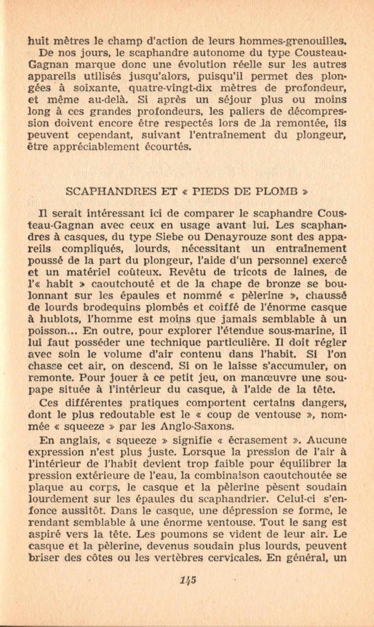 p145, La conquête des fonds sous-marins, marabout chercheur