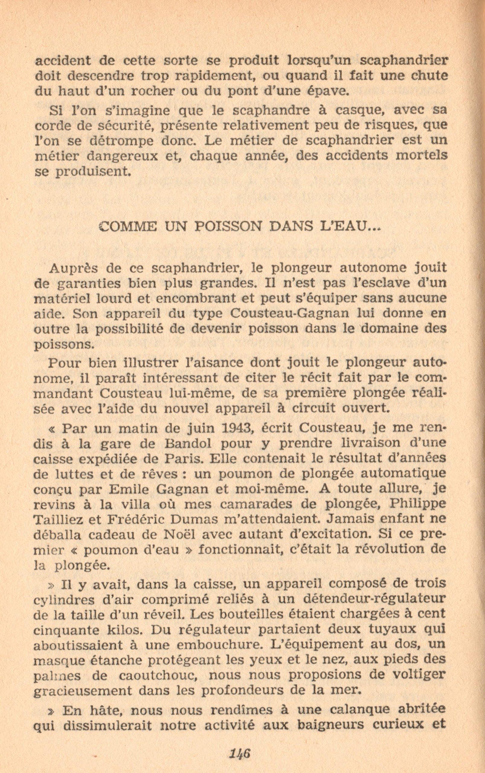p146, La conquête des fonds sous-marins, marabout chercheur