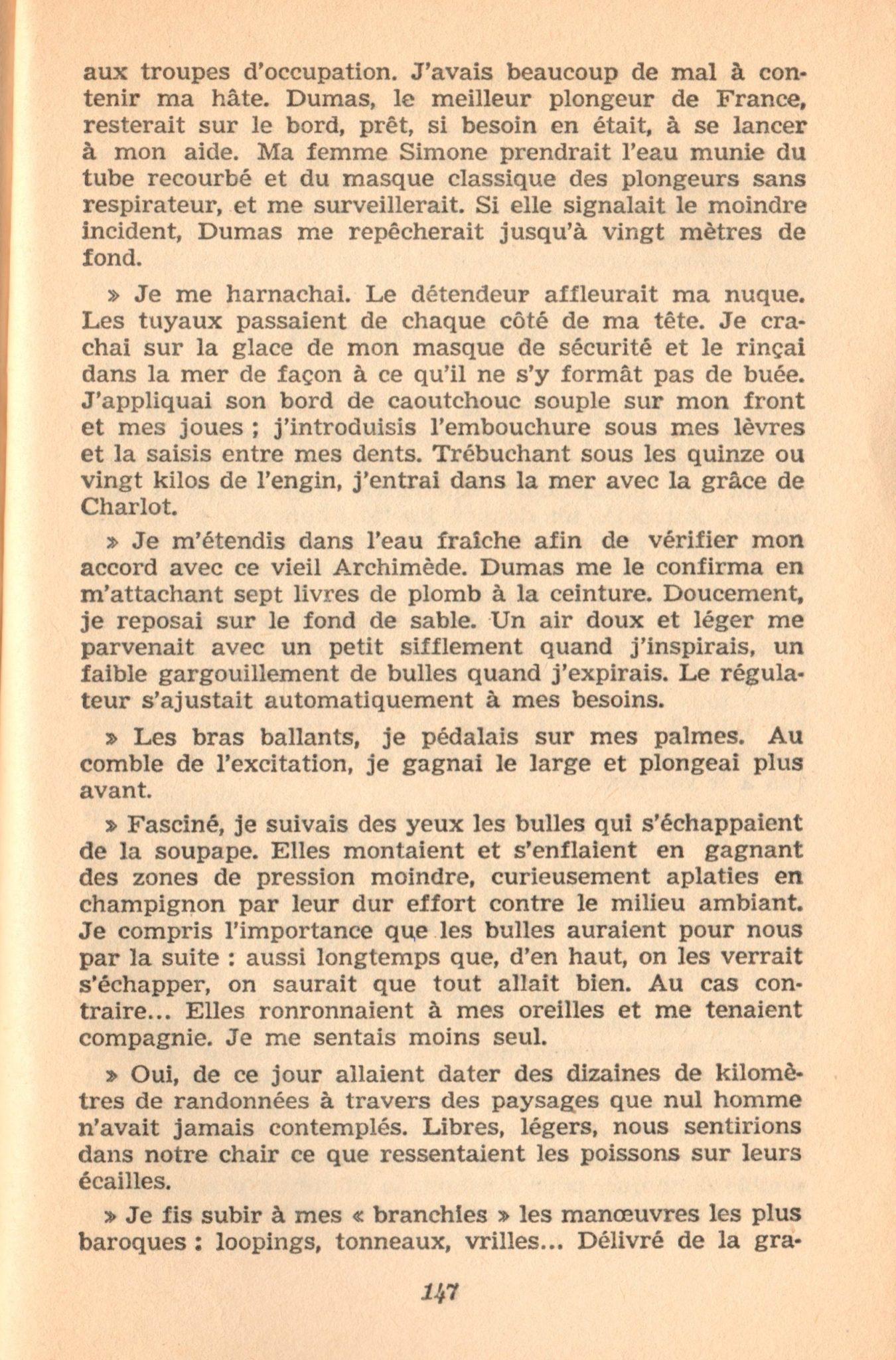 p147, La conquête des fonds sous-marins, marabout chercheur