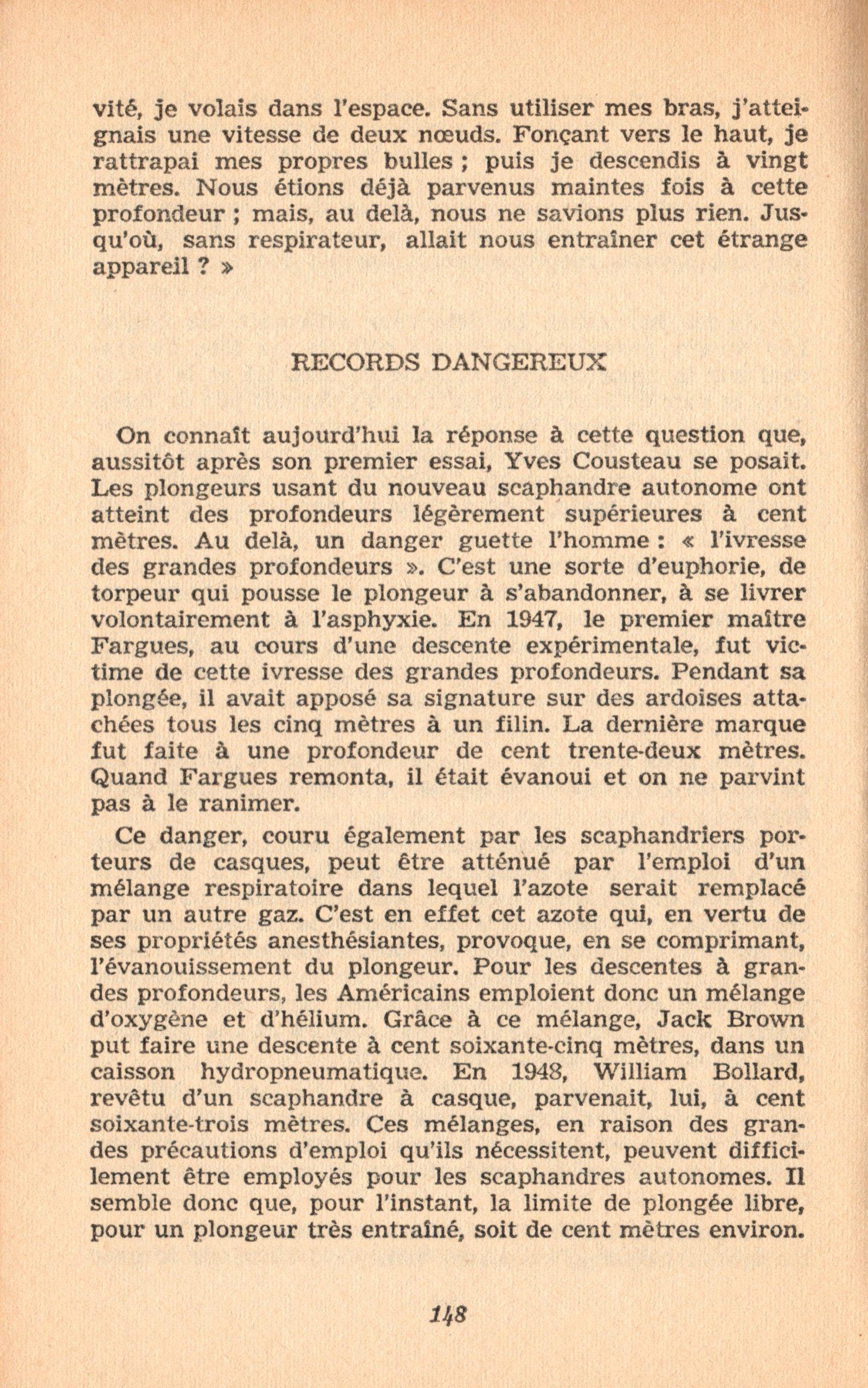 p148, La conquête des fonds sous-marins, marabout chercheur