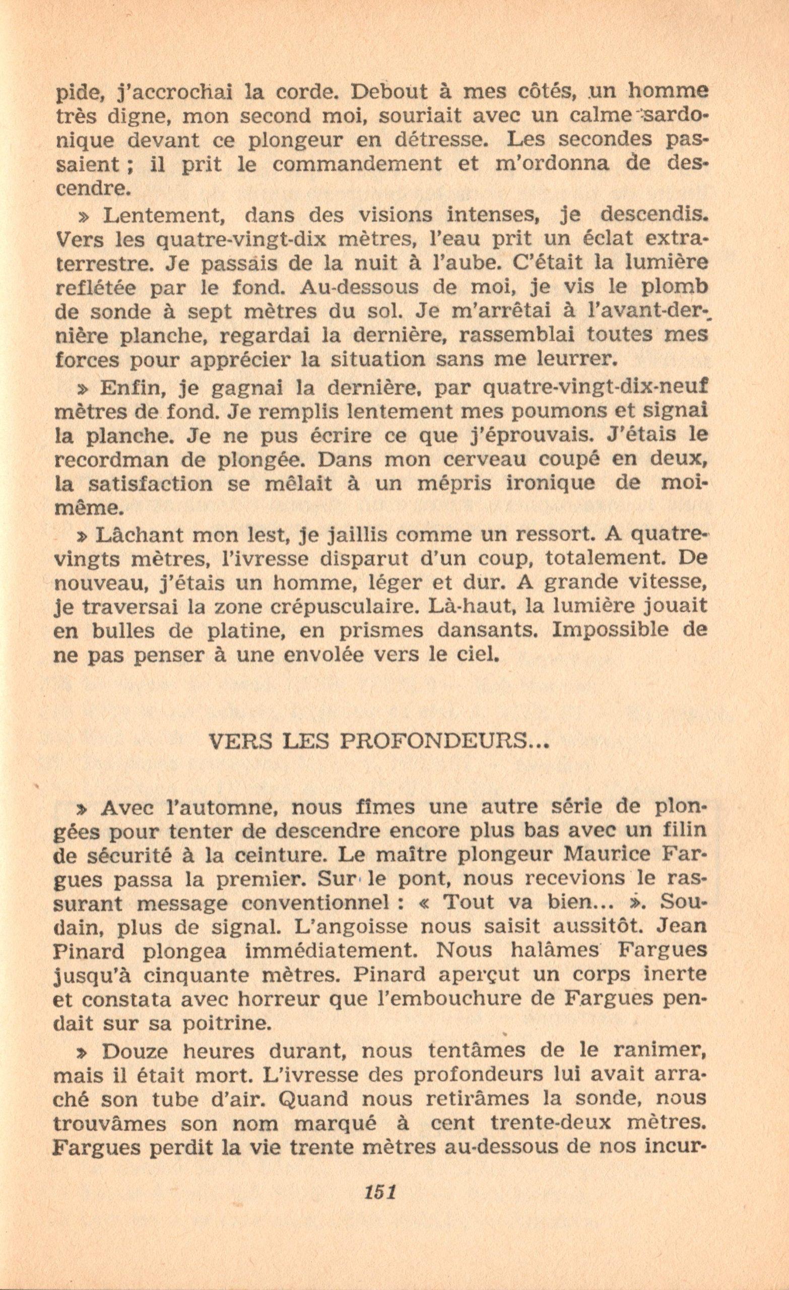 p151, La conquête des fonds sous-marins, marabout chercheur